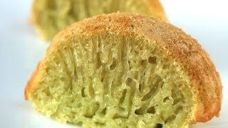 Gluten and dairy free coconut honeycomb cake (Bánh bò nướng)