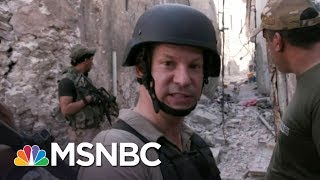 Richard Engel, NBC News chief foreign correspondent, reports on the Iraqi Army, with the support of the U.S. military, successfully ...