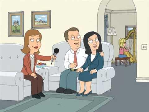 Elizabeth Smart Joke on Family Guy