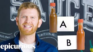 Hot Sauce Expert Guesses Cheap vs Expensive Hot Sauce | Price Points | Epicurious