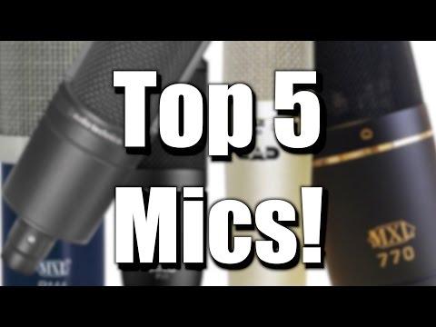Top 5 Studio Mic's Under $100