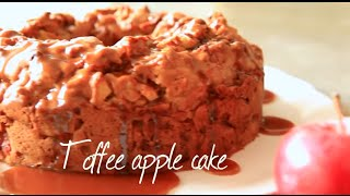 Toffee apple cake