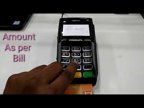 SWIPE CARD MACHINE || HOW TO USE SWIPE CARD MACHINE And SETTLEMENT || Hindi