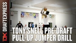 Tony Snell - 2013 NBA Pre-Draft Workout - Pull-Up Jumper Drill