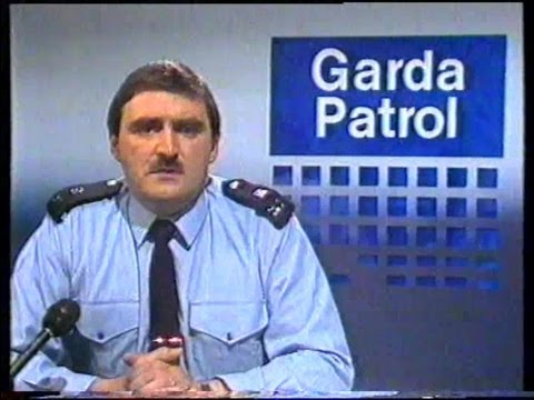 rte - GARDA PATROL FROM 1986. BIT LIKE CRIMELINE OR CRIMECALL. BACK IN 1986.........