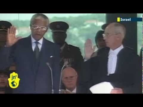 Mandela and Mossad: Letter reveals South African leader