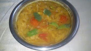Muttaikose sambar or cabbage sambar