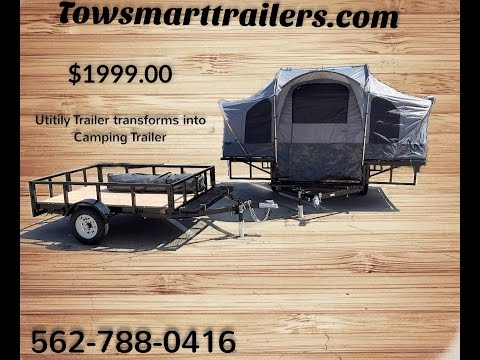 Camping Trailer and Utility Trailer
