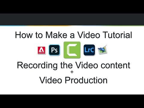 How to Make a Video Tutorial