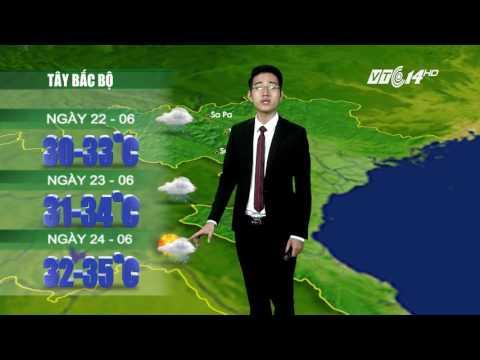 (VTC14)_ Thời tiết 12h ngày 21/06/2017