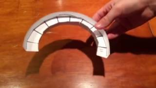 Video How To Make A Wide Curve For Paper Roller Coaster MP3 3GP