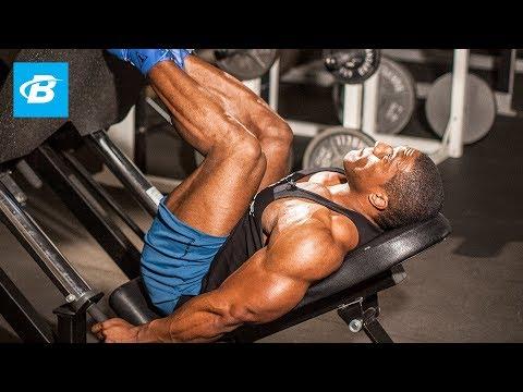 Lawrence Ballenger's XXL Leg Workout – Bodybuilding.com