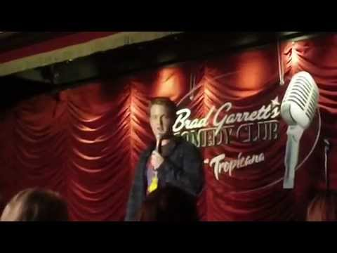 Robbie Komrs at the Brad Garrett Comedy Club