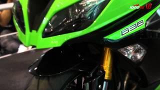 11. New Kawasaki ZX 6R 636 Details from Intermot 2012