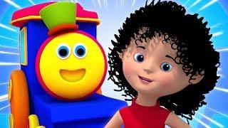 Video Bob o trem vídeos e músicas para crianças   Rimas Infantis Pré-Escolares MP3, 3GP, MP4, WEBM, AVI, FLV Juni 2019
