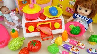 Video Baby Doli and Kitchen fruit toys baby doll surprise eggs play MP3, 3GP, MP4, WEBM, AVI, FLV Juni 2018
