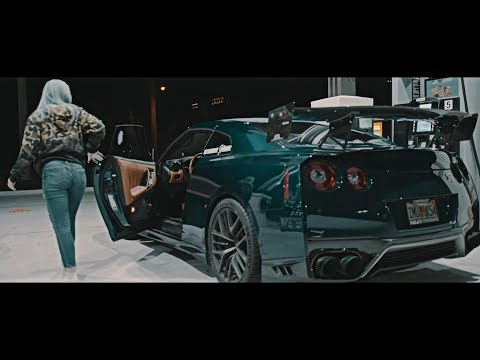 MIDNIGHT GROWLERS 2017 Nissan GT-R R35 ARMYTRIX GTR 90mm Turbo-back Exhaust Sound & Nur Performance