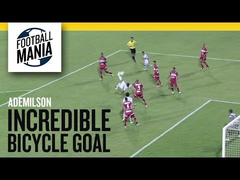Ademilson scores amazing bicycle kick in Sao Paulo defeat