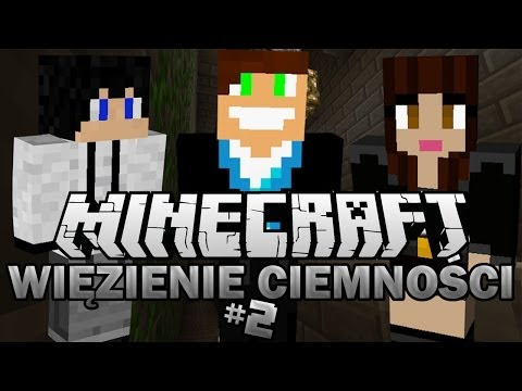 Minecraft Adventure | Vertez, Husiek i Madzia w WIĘZIENIU CIEMNOŚCI #2