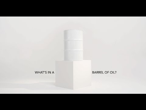 <p>what's in a barrel of oil?</p>