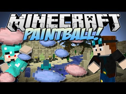 Minecraft | PAINTBALL! (Fast Paced Shootin'!) | Minigame