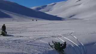 تزلج على الجليد في جبل بيلاشنيتسا