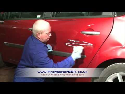 Scratches - Sprayless Scratch Repair is a cosmetic repair that provides a permanent solution for scratches, chips and scuffs rendering them virtually undetectable.