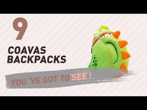 Top Backpacks By Coavas // New & Popular 2017