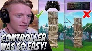 Tfue Explains Why He Has LESS RESPECT For CONTROLLER Players Now That He Has USED One!