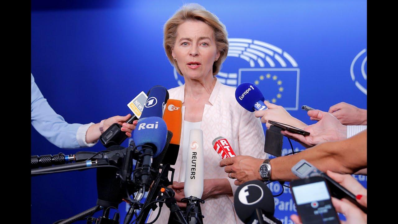 Η Ούρσουλα φον ντερ Λάιεν στην κρίση του Ευρωπαϊκού Κοινοβουλίου…