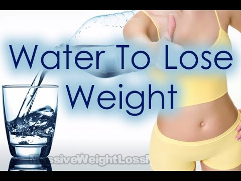 How Much Water To Drink To Lose Weight? [HD]