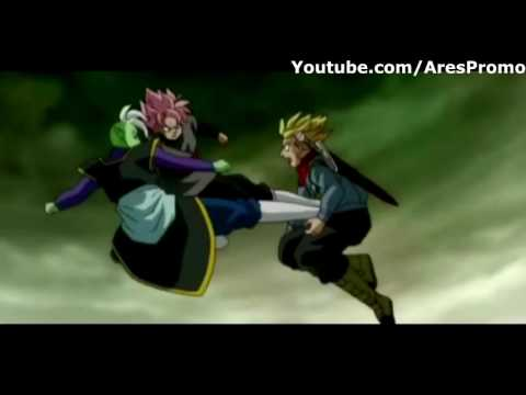 Dragon Ball Super Episode 62 Trunks New Form Vs Black Goku Part #1