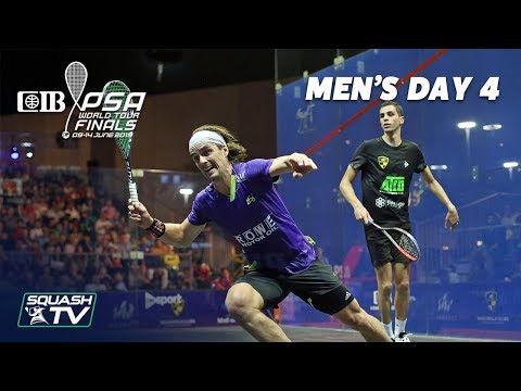 Squash: CIB PSA World Tour Finals 2018/19 - Men's Day 4 Roundup