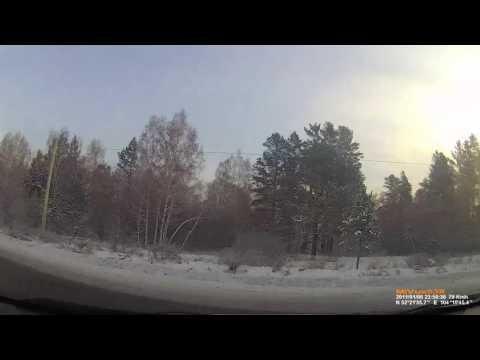 Авария в Иркутской области