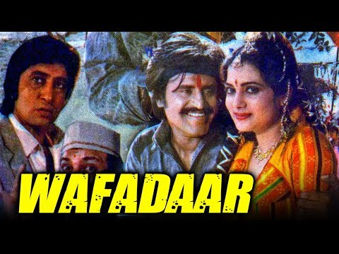 Wafadaar (1985) Full Hindi Movie | Rajinikanth, Padmini Kolhapure, Vijeta Pandit, Anupam Kher