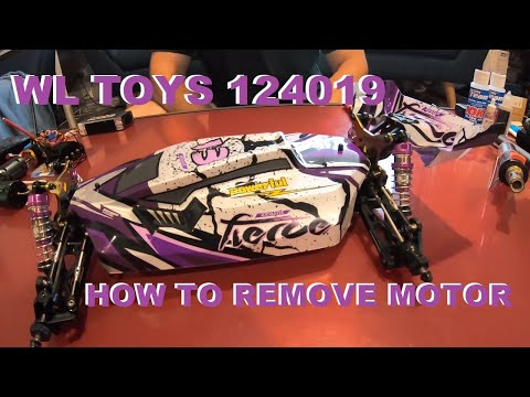 124019 BRUSHLESS CONVERSION HOW TO REMOVE MOTOR