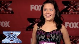 Yes, I Made It! Hannah Johnson - THE X FACTOR USA 2013