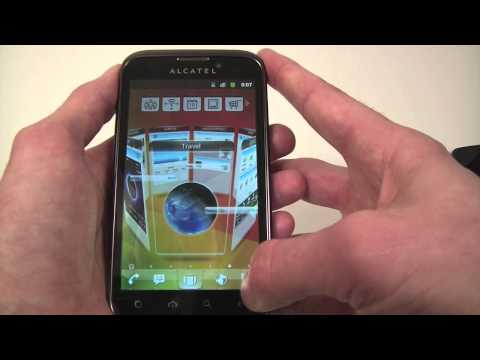 Alcatel One Touch 995 hands-on