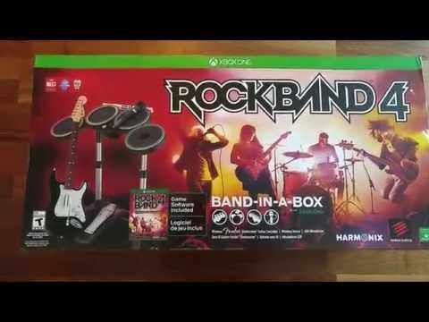 Rock Band 4 Band-in-a-Box (BIAB) Unboxing