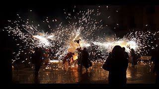 Vilanova I La Geltru Spain  city images : Correfoc Vilanova i la Geltrú. Show de Fire, Spain