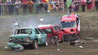 Video 2015 Gander Demolition Derby - Small Car Heat MP3, 3GP, MP4, WEBM, AVI, FLV Januari 2019