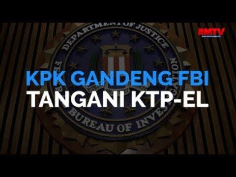 KPK Gandeng FBI Tangani KTP-El