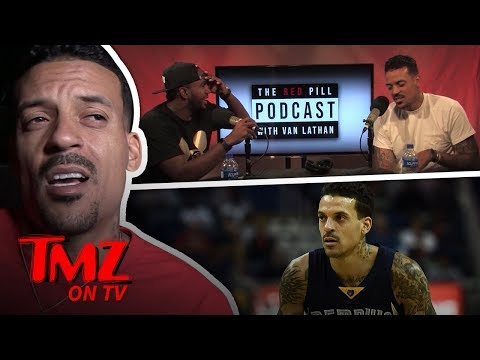 Matt Barnes Says He Smoked Weed Before NBA Games | TMZ TV