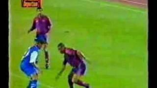 Ronaldo every goal for Barcelona (part 2)
