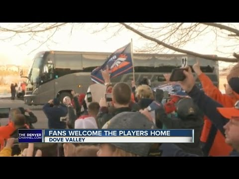 Broncos Get Luke Warm Welcome Home