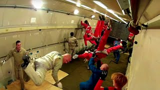 Zero-G Flight in IL-76MDK (Russia)! Zero G Experience for tourists!