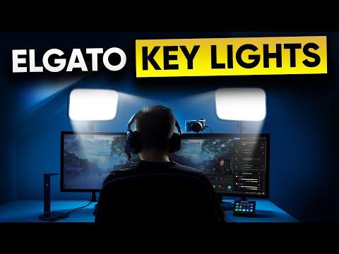NEW Elgato Key Light - The Best Lights for Streamers?
