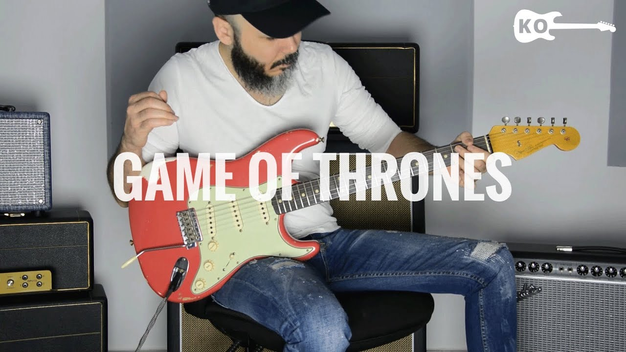 Game of Thrones – Electric Guitar Cover by Kfir Ochaion
