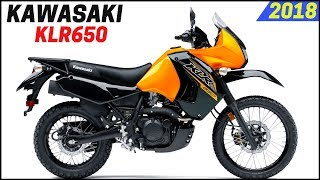 7. NEW 2018 Kawasaki KLR 650 - Updated With New Feature And New Color