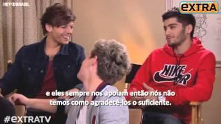 Legendado: Entrevista do One Direction para o Extra TV!